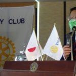 東京東村⼭ロータリークラブに渡部東村⼭市⻑をお招きして卓話をして頂きました。